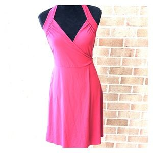 Red Wrap Dress BCBG Max Azria